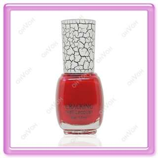 Shatter Crackle Color Crack Nail Art Varnish Polish AU