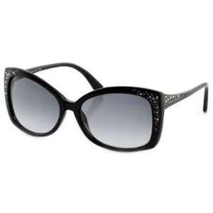 Daniel Swarovski Sk0019 Black / Gray Gradient Sunglasses