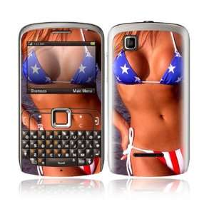 US Flag Bikini Design Decorative Skin Cover Decal Sticker for Motorola