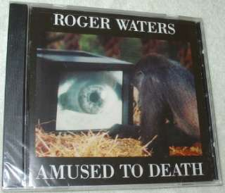 ROGER WATERS ~AMUSED TO DEATH~ IMPORT CD ~NEW~ SEALED 074644712728