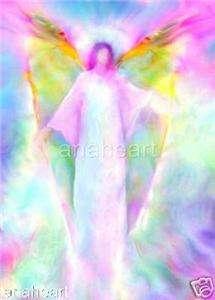 ARCHANGEL GABRIEL PICTURE Spiritual Angel Art Painting