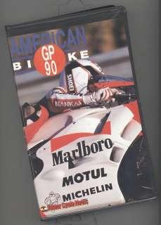 AMERICAN Bike GP 90 (VHS) World Champ motorcycle Race