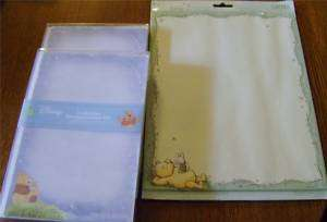 sets Winnie Pooh Baby Announcements/Shower/stationary