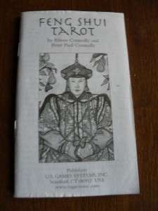Rare Chinese Feng Shui Tarot Cards Printed in Italy Complete