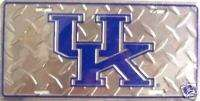 UNIVERSITY OF KENTUCKY WILDCATS License Plate Auto Tag