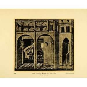 Monk Trecento Late Medieval Angel Art   Original Collotype: Home