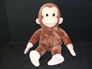 Plush Curious George Applause Stuffed Animal Monkey Toy