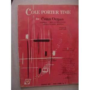 Cole Porter Time for Conn Organ Chord Symbols Included