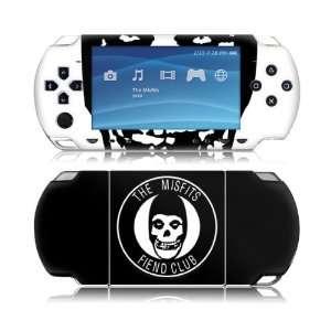 MS MISF20014 Sony PSP Slim  Misfits  Fiend Club Skin: Electronics