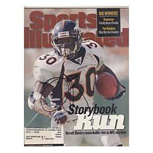 Terrell Davis Autographed / Signed September 28, 1998
