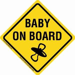 Baby On Board Sign Car Magnet