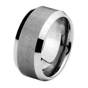 Cobalt Free Tungsten Carbide COMFORT FIT Wedding Band Ring for Men