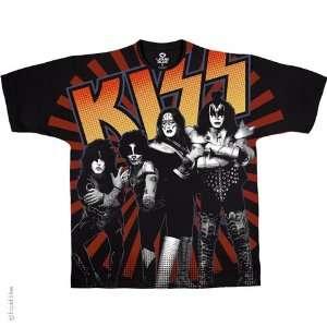 Kiss Live in Japan T Shirt (Black), M