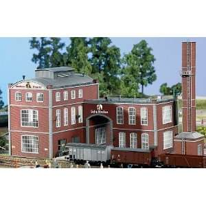 BREWERY   PIKO HO SCALE MODEL TRAIN BUILDING 61149: Electronics