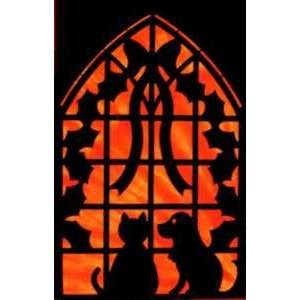 NT CHRISTMAS WINDOW LASER CUT FUSIBLE APPLIQUES Arts, Crafts & Sewing