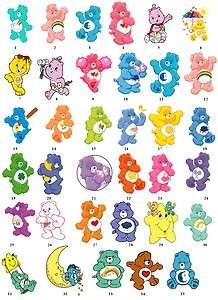 Care Bears Lucky Funshine Return Address Labels Favor Tags Gift Buy 3