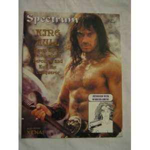 Spectrum V.1 #11 Sep. 1997 King Kull Xena Kevin Sorbo Hercules Windsor
