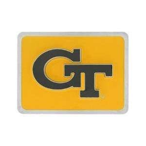 College Trailer Hitch Cover   Georgia Tech Yellow Jackets