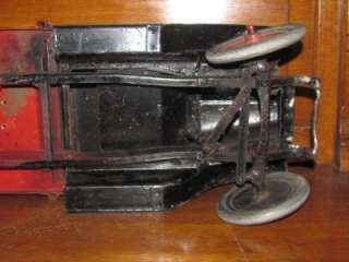 MOLINE PRESSED STEEL BUDDY L AUTO WRECKING TRUCK 1928 TOW TRUCK