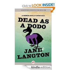 Dodo A Homer Kelly Mystery Jane Langton  Kindle Store