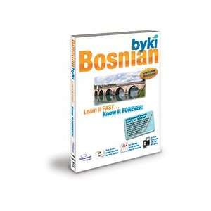 Byki Bosnian Language Tutor Software & Audio Learning CD