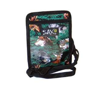 Wolf Bear Deer Badge Holder: Office Products