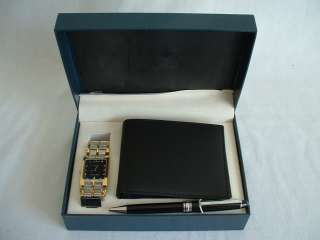 Cote dAzur Set   New In Box   Include Watch, Wallet and Pen