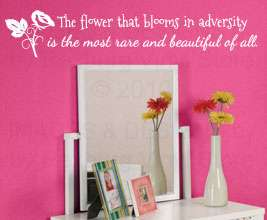 Vinyl Wall Art Sticker Decal Quote Lettering Decor Saying B92