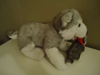 BUILD A BEAR BAB SIBEARIAN PLUSH HUSKY AND BABY DOG PUP MAMA & PUPPY