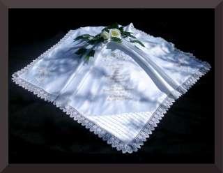 NEW Baby Gift BAPTISM Christening Blanket shawl BOYS GIRLS