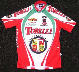 Team TORELLI BICYCLES Parentini CYCLING JERSEY XL Made in Italy