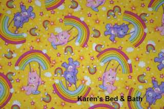 Care Bears Yellow Baby Boy Girl Nursery Curtain Valance