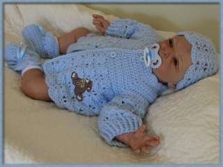 Sweet Baby Boy Reborn Doll with Human Hair New Elise Sculpt by Natali