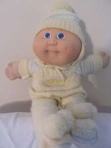 80s Cabbage Patch Kids baby doll with baby powder scent!