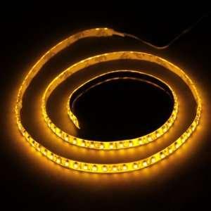 Yellow 1M 120 LED 3528 SMD Flexible Car DIY Strip Light