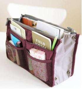 Handbag Organiser Purse Large liner Organizer Tidy Bag Pouch New