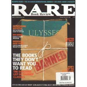 Rare Book Review February/March 2007   Banned Books Jeff Hudson