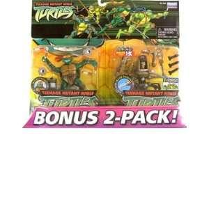 Teenage Mutant Ninja Turtles Bonus 2 Pack Michelangelo