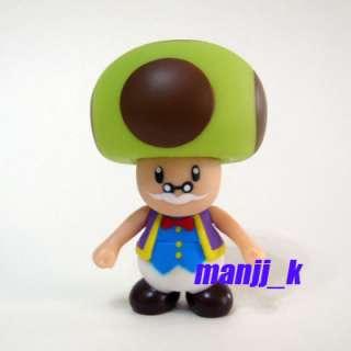 NEW Nintendo Super Mario Figure 9cm Toadsworth x 1pcs (As Same as