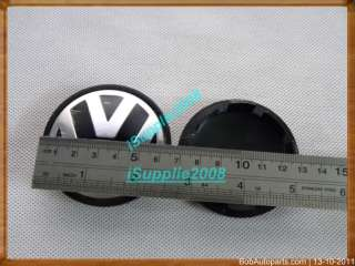 PCS Set 65mm Wheel Center Cap Badge Emblem For Volkswagen VW POLO