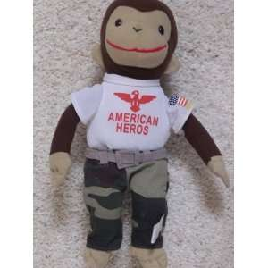 Curious George American Hero Doll Toys & Games
