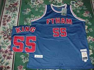BERNARD KING FT. HAMILTON HIGH SCHOOL THROWBACK BASKETBALL JERSEY