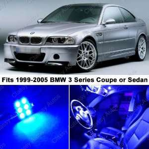 BMW 3 Series ULTRA BLUE LED Lights Interior Package Kit M3
