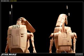 Sideshow Star Wars   Infantry Battle Droids 2 pack