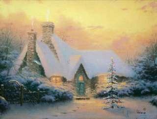 Thomas Kinkade   Christmas Tree Cottage