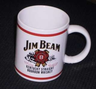 JIM BEAM COFFEE CUP   KENTUCKY STRAIGHT BOURBON WHISKEY   JIM BEAM MUG
