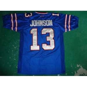 buffalo bills #13 steve johnson blue jersey buffalo bills