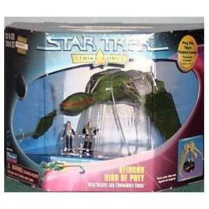 Star Trek Klingon Bird of Prey Strike Force 1997 Limited