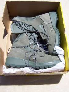BELLEVILLE STEEL TOE HOT WEATHER SAFETY BOOTS SZ 6; NIB