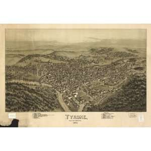 Blair County, Pennsylvania 1895 / drawn by T. M. Fowler.: Home